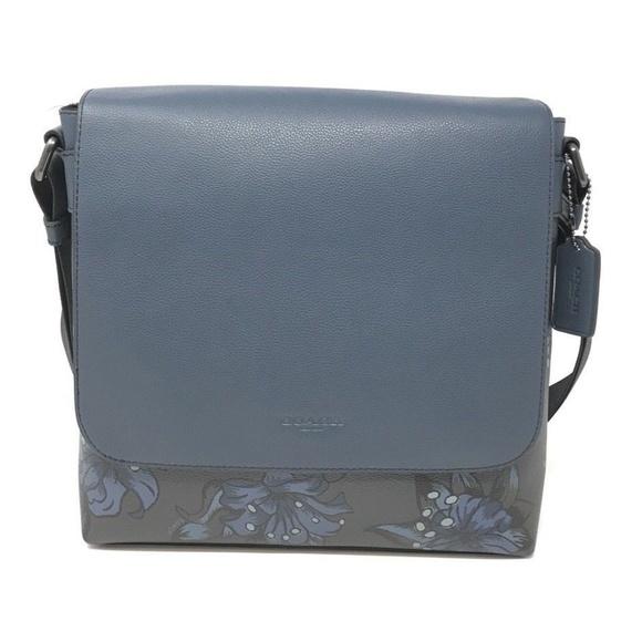 0273471f13 Coach F29026 Men s Charles Messenger Bag Floral